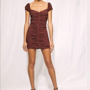 Aritzia copper dress size 2
